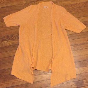 Eileen Fisher linen blend open cardigan
